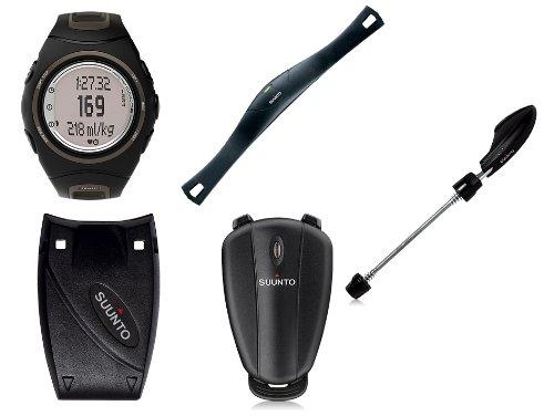 Suunto T6c Triathlon Pack (T6c Heart Rate Monitor, Foot POD, Road Bike POD, Cadence POD, and Memory Belt)