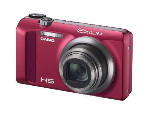 CASIO デジタルカメラ EXILIM EX-ZR500RD ハイスピードカメラ 5軸手ブレ補正 1610万画素 レッド