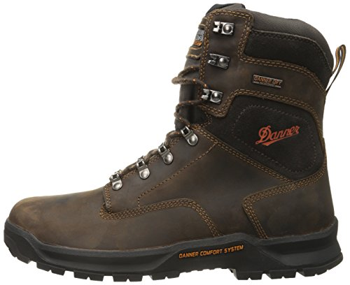 Danner Men S Crafter 8 Inch Plain Toe Work Boot Brown 11