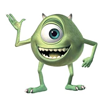 Monsters Giant Mike Wazowski Peel and Stick Wall Decal