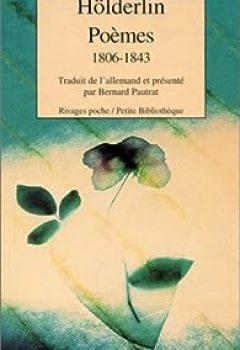 Livres Couvertures de Poèmes : 1806 1843