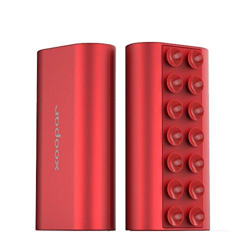 ズーパーXoopar SQUID MINI モバイルバッテリー 5200mAh レッド XP61031.15R5