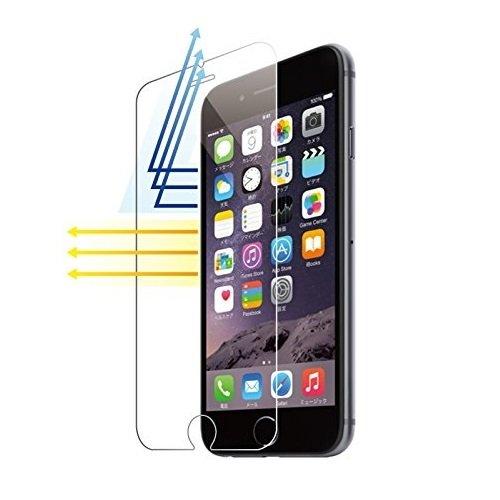 DOLPHIN47 ブルーライト カット iPhone 6s plus / iphone 6 plus 液晶保護フィルム 日本製素材 強化ガラス 5.5インチ 表面硬度9H・ラウンド処理・飛散防止処理 国産ガラス採用