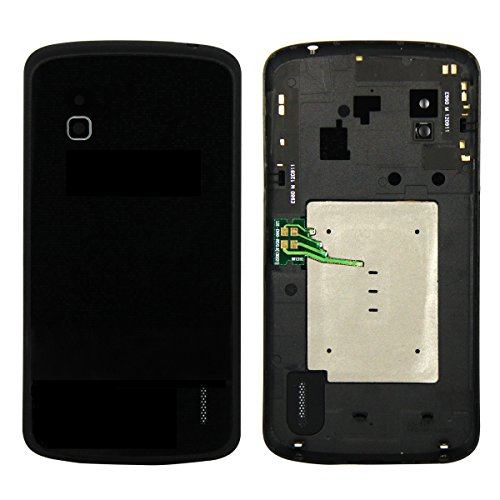 SKILIWAH® LG E960 Google Nexus 4専用 バックパネル バッテリーカバー バックカバー NFC付き 修理交換用パーツ