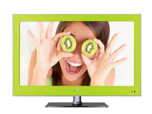 TCL L26E3140C 66 cm (26 Zoll) LED-Backlight-Fernseher, Energieeffizienzklasse B (HD-Ready, DVB-C/-T, 2x HDMI, CI+, USB 2.0, Hotelmodus) grün