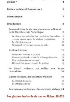 Livres Couvertures de Guide des plantes du bord de mer - Atlantique et Manche