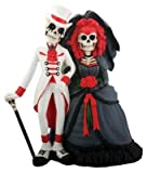 Skeleton Gothic Wedding Couple Figurine Decoration Collectible