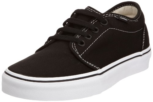 Vans V99ZY28 Unisex - Erwachsene Sneakers Schwarz (Black/White) EU 42, (US 9.0)