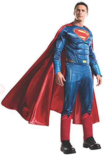 Men's Batman v Superman: Dawn of Justice Grand Heritage Superman Costume