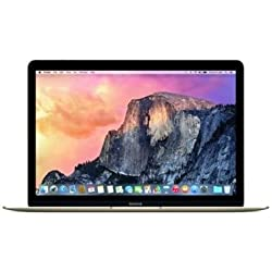 "Apple Macbook Retina Display 12"" Laptop (2015) - 256GB SSD, 8 GB Memory, Gold (Custom-Built, Brown-box Packaging)"