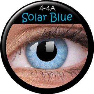 Farbige Kontaktlinsen crazy Kontaktlinsen crazy contact lenses Blau Hellblau hell blau 1 Paar incl. 60ml Kombilösung und Kontaktlinsenbehälter