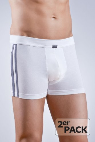 Schiesser 2-er Pack Shorts Bluebird Cotton 035111 4, weiss
