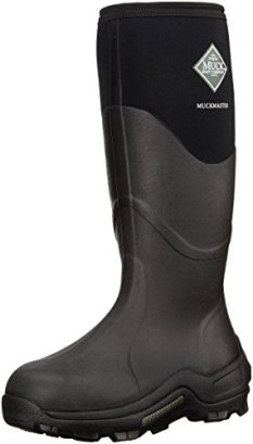 The Original MuckBoots Adult Muckmaster Hi-Cut Boot,Black,9 M US Mens/10 M US Womens