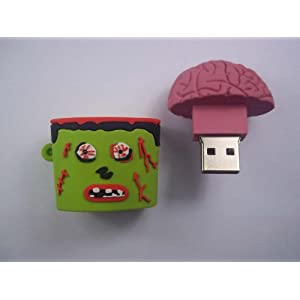 zombie usb brain zombies flash drive amazon