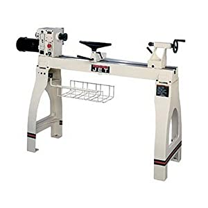 JET 708359 JWL-1642EVS 16-Inch Swing 42-Inch between Centers 1-1/2 Horsepower Electronic Variable Speed Woodworking Lathe, 115-Volt 1 Phase