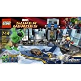 Toy / Game LEGO (レゴ) Hulk Helicarrier Breakout 6868 - 4 Flick Missiles And Opening Cockpit W/ Cockpit Blast Function ブロック おもちゃ (並行輸入)