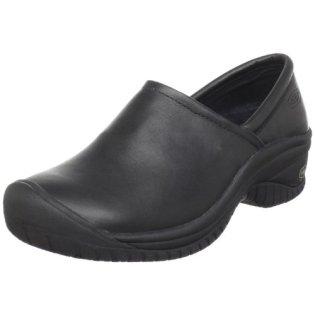 KEEN Utility Women's PTC Slip On II Work Shoe,Black,9 M US