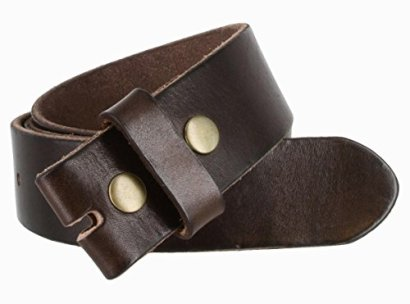 BS-40-Vintage-Full-Grain-100-Leather-Distressed-Style-Snap-on-Belt-Strap-1-12-Wide