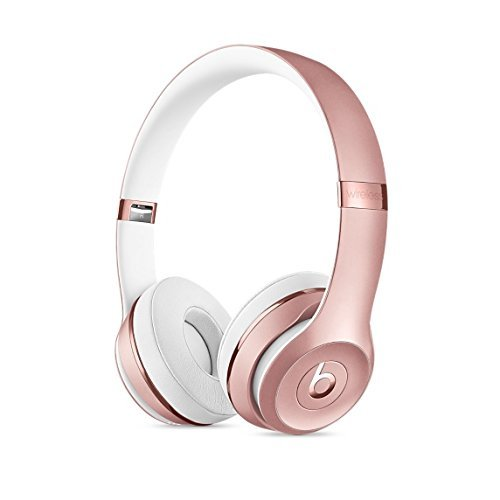 Beats Solo3 Wireless On-Ear Headphone - Rose Gold