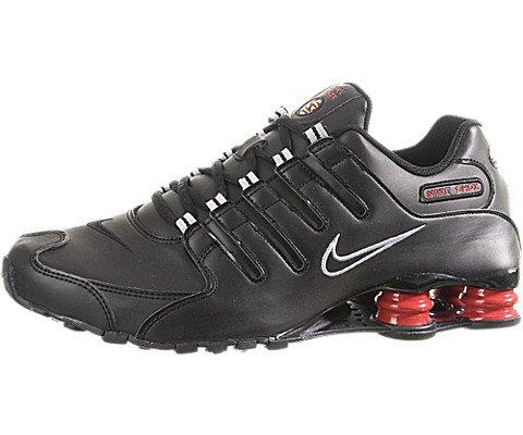 Buy Nike Shox NZ Mens Running Shoes (Black/Black) 11.5