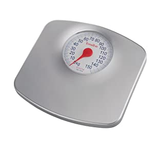 Terraillon Speedo Mechanical Bath Scale, Silver