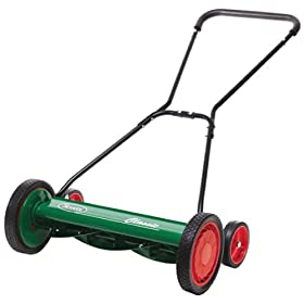 Scotts 20-Inch Push Reel Mower #2000-20