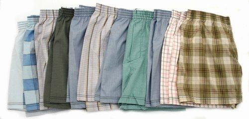 Klassische Shorts für Herren (Gewebe), Herrenunterwäsche (3er Pack)