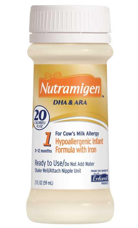nutramigen infant formula for cow s milk allergy 2 fl oz bottles 6 ...