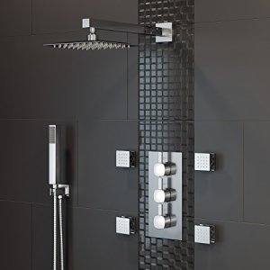Body-Jet-Spa-Thermostatic-Mixer-Shower-Set-Head-Chrome-Diverter-Valve-Kit
