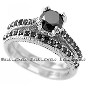 Black Diamond Wedding Bands Is Your Romance More Than