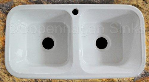 33 33in Square Shaped Inner Bowl Modern White Porcelain