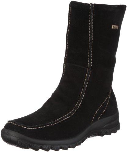 Rieker Eike Z7170-00, Damen Stiefel, Schwarz (schwarz 00), EU 39