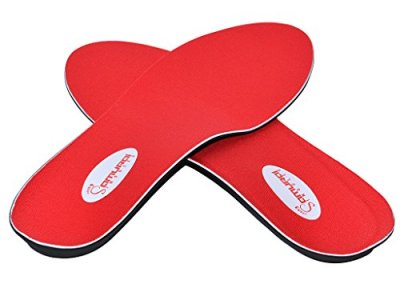 Orthotics for Flat Feet by Samurai Insoles- Fight back against Plantar Fasciitis, Heel Pain, and Pronation. Simply Insert Our Arch Supports Into Mens or Womens Running Shoes, Dress Shoes or Boots