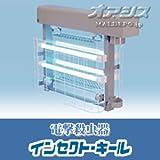 屋外用強力電撃殺虫器 PS30420 ポールヘッド取付型 200V 4灯
