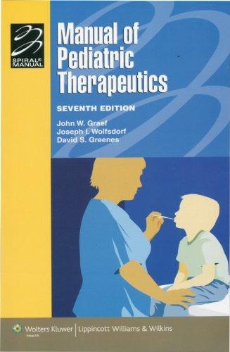 Manual Of Pediatric Therapeutics