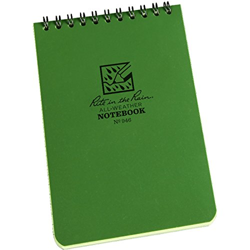 write in the rain, notebook, prepper