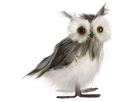Rustic Owl Christmas Ornamnet