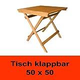 Balkontisch- Tisch ASTI 5050 -Klapptisch-Gartentisch- Holztisch Eukalyptus
