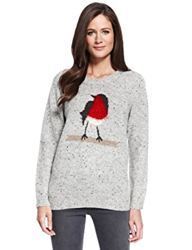Marks and Spencer, Robin Jumper, £35