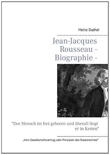 Buchcover: Jean-Jacques Rousseau - Biographie