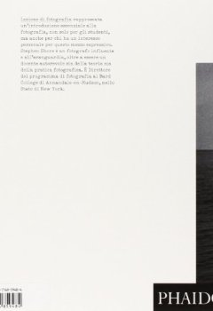 Copertina del libro di Lezione di fotografia. La natura delle fotografie