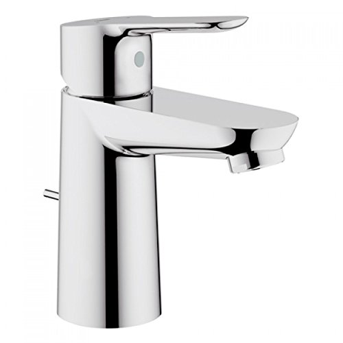 grohe single lever basin mixer bauedge 23328 with drawbar outlet set chrome 23328000 check price yegozxxedvedev