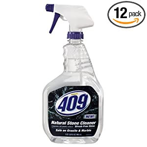 Formula 409 Natural Stone Cleaner, 32-Fluid Ounce Bottles (Pack of 12)