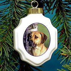 Christmas Ornament: Rhodesian Ridgeback