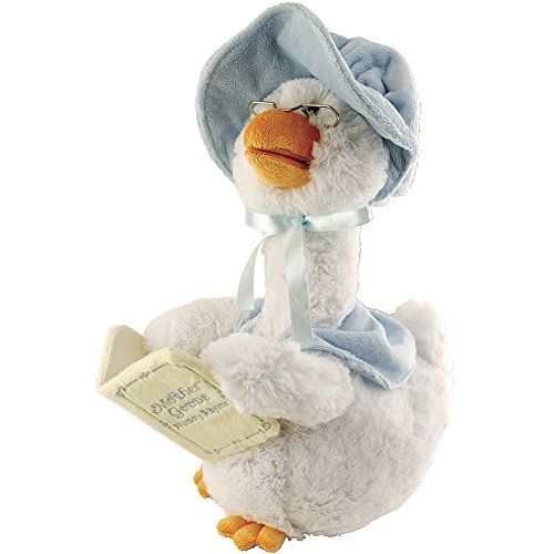 Mother Goose Animated Soft Plush Toy Recites 5 Stories Nursery Rhymes