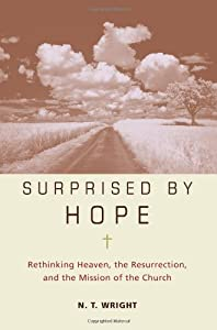 """Cover of """"Surprised by Hope: Rethinking H..."""