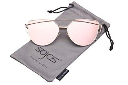 SojoS-SJ1001-Cat-Eye-Mirrored-Flat-Lenses-Street-Fashion-Metal-Frame-Women-Sunglasse