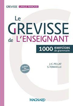 Livres Couvertures de Le Grevisse de l'enseignant : 1000 exercices de grammaire
