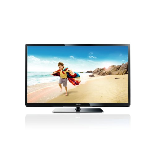Philips 32PFL3517H/12 81 cm (32 Zoll) LED-Backlight-Fernseher, Energieeffizienzklasse A (Full-HD, 100Hz PMR, WiFi-Ready, DVB-T/C, CI+, WiFi ready, Smart TV (Youtube und DLNA)) schwarz