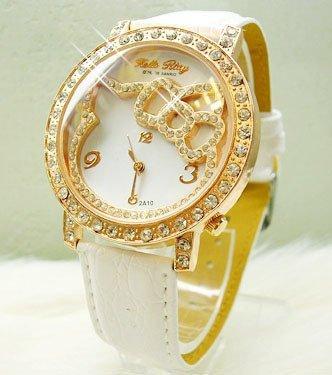 Hello Kitty Gold Watch